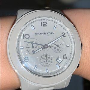 Michael Kors Ceramic Grey Watch